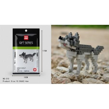 Bloque Lego Wisehawk Animales Armar Niños Juguete