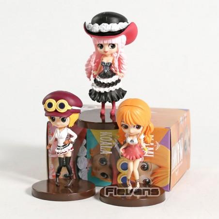 3 Figuras de Coleccion Mujeres One Piece Q Posket