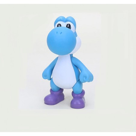 Figura Colección Super Mario Switch Yoshi Azul