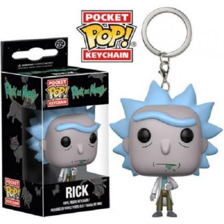 Funko Pop Llavero Keychain Figura Acción Rick