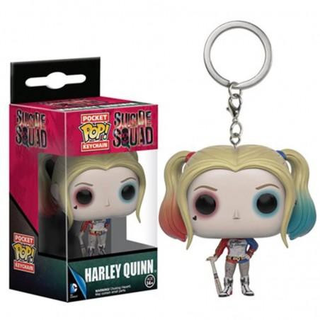 Funko Pop Llavero Keychain Figura Acción Harley Quinn Suicide Squad