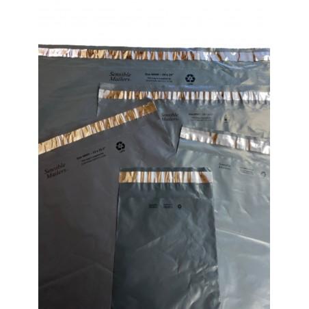 100 Sobres 18.5x26.5cm Bolsas Para Envíos Flyer Eco