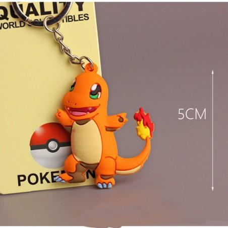 Llavero Pokemon Go 3D Colgante Coleccion Pikachu Charmander
