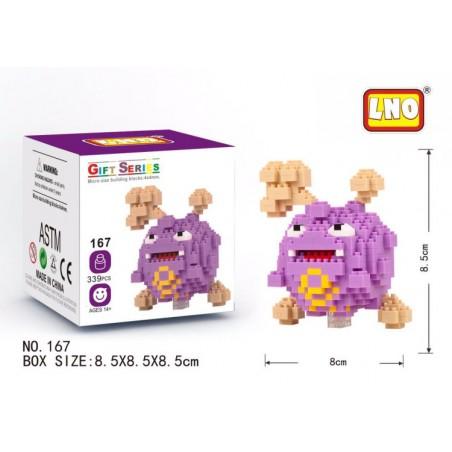 Bloque Lego LNO Pokemon Cubos Niños Armar